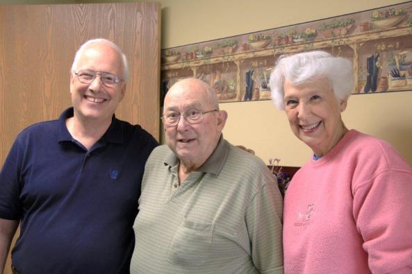 Bill Dayton Donates