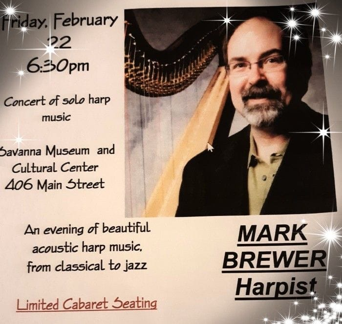 2019-02-22 Mark Brewer Harpist